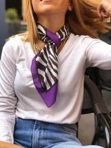 100% Silk Scarf, Spring Summer Scarf, Best Gift for Women, Head Scarf, P... - $21.90