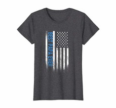 Funny Shirt - Best Papa Ever American Flag USA Flag T Shirt Gift for Bes... - $19.95+