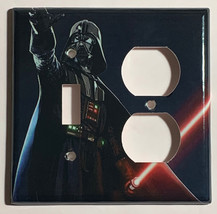 Star Wars Darth Vader Light Switch Power Outlet Wall Cover Plate Home Decor image 9