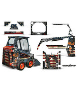 Scheda Grafica Kit Decalcomania Wrap per Bobcat Skidsteer Mini Carico Mi... - $396.24