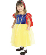 Rubies Snow White Cottage Princess Costume Sparkly Tulle Tutu Skirt/Red Cape - $22.99