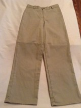 Size 20 Regular Dockers pants uniform khaki flat front boys - $8.99