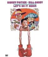 Let's Do It Again DVD stars Bill Cosby, Sidney Poitier - $19.99