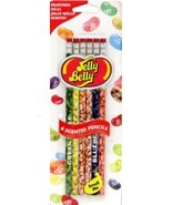 Jelly Belly set of 6 Scented Pencils - $9.79