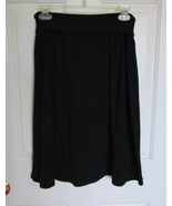 Womens Banana Republic Skirt A Line Flare BlackSIZE 4 back tie bow caree... - $9.47