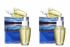 Bath and Body Works 4 Pack Flannel Wallflowers Fragrance Refill. 0.8 Oz. - $44.20