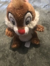 """Disney Official Chip And Dale Dale Plush Soft Toy Small  VGC  Approx 7"""" - $7.71"""