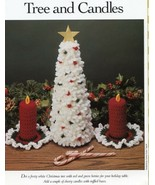 Christmas Tree and Candles Vanna Crochet PATTERN/Instructions Leaflet - $3.57
