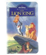 The Lion King - Walt Disney Masterpiece - VHS 2977 - G - 88 minutes. - $1.37