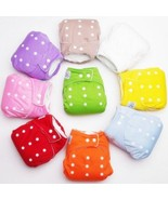 Baby Newborn Infant Kids Cloth Diapers Adjustable Size Washable Reusable... - $1.99+