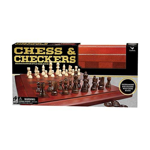 Cardinal Chess & Checkers Set with Wooden Board - $38.35