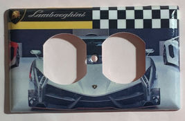 Lamborghini auto sport car Light Switch Power outlet Wall Cover Plate Home decor image 13