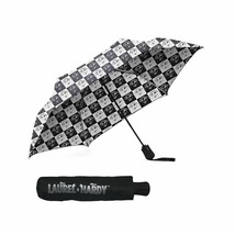 Laurel & Hardy Checkered Compact Umbrella - $18.74