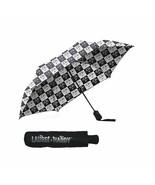 Laurel & Hardy Checkered Compact Umbrella - $18.74