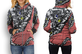 hoodie women zipper Car Rally - $48.55+