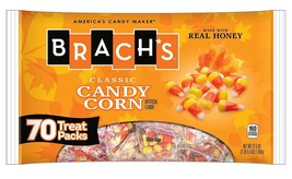 Brachs Candy Corn Treat Packs, 0.5 Ounce Packs, 70 Count - $23.71