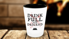 Twin Peaks Revival Shot Glass Drink Full and Descend  - €10,00 EUR