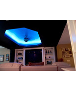 LED ceiling lights that bend around corners - color control with Smart P... - £40.03 GBP+