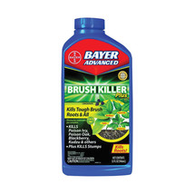 BAYER ADVANCED* 32 oz Bottle BRUSH KILLER PLUS Kills Brush Roots CONCENT... - $19.86
