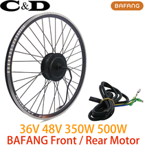 Electric Bike Motorized Conversion Kit 36V 350W 48V 500W SWX02 Motor Wheel - $425.69+