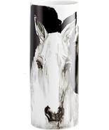 Vase CYAN DESIGN SPIRIT Black White Ceramic New CY-4299 - $372.50