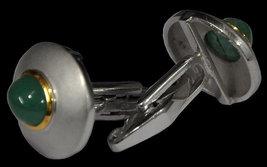 925 Sterling Silver Natural Fine Quality Emerald Gemstone Handmade Front Gold Pl image 5