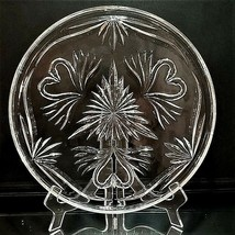 """1 Waterford Wedding Collection Crystal 12"""" Cake Plate With Hearts & Swans-Signed - $69.46"""