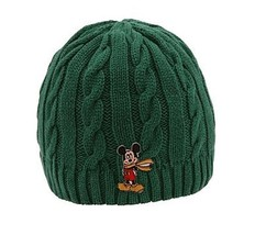 Disney Store Mickey Cable Knit Hat - SMALL BOYS (woolen land park beanie... - $6.81