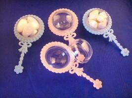 48 Fillable plastic baby rattles shower favor - $22.00