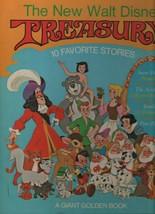 The New Walt Disney Treasury - 10 Favorite Stories - HC - 1979 Giant Gol... - $9.79