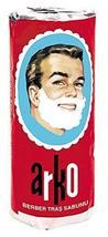 Arko Shaving Soap Stick, White, Pack Of 3 image 3