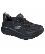 Skechers Black Shoe Women Sport Comfort Walker Memory Foam Cushion Slipo... - $56.99