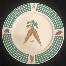 """Fresh Vegetables Tabletops Unlimited 10 5/8"""" Dinner Plate China - $14.36"""