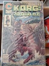 Korg 70000 BC #3 By Charlton Comics Written by Pat Boyette Art by Pat Boyette G - $2.38