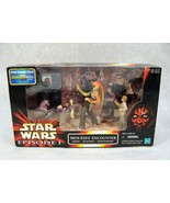 STAR WARS MOS ESPA ENCOUNTER 3 FIGURE PK JAR JAR BINKS SEBULBA & ANAKIN ... - $14.84