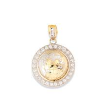 Real 10K Yellow Gold Diamond Cut World Globe Map Charm Pendant 9.10 Gram - $518.70