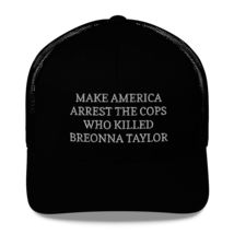 Make America Arrest The Cops Hat / Make America Arrest The Cops / Trucker Cap image 5