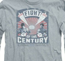 Rocky 1976 Fight of the Century Balboa vs Creed long sleeve graphic tee MGM357 image 2