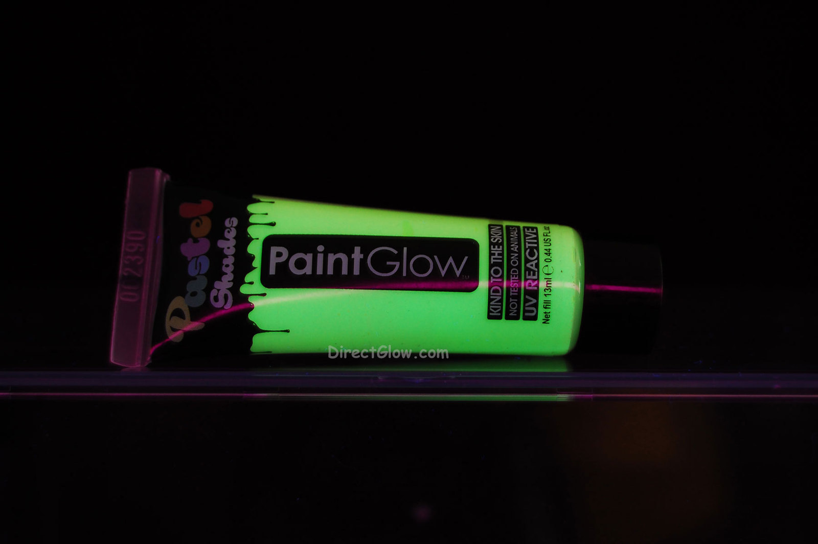 PaintGlow .44oz Pastel Green Blacklight Reactive Face and Body Paint - $5.95