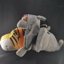 "Flip A Zoo Theodore Tiger to Emma Elephant 2-in-1 Stuffed Animal FLIPAZOO 18"" - $22.27"