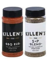 Killen's Salt + Pepper Blend And Killen's BBQ Rub. Combo Pack.  - $39.57