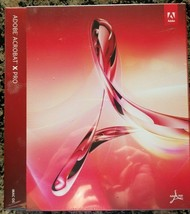 Adobe Acrobat X Pro Mac OS 10.0 Full Version NEW Authentic Software - $119.99