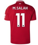 Liverpool Home 11 M.SALAH 2018-19 Men Soccer Jersey Football Shirt New S... - $36.99