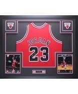 Michael Jordan Autographed Jersey Framed $995 Chicago Bulls  - $995.00