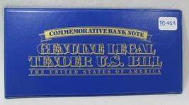Lot of 5 U.S. Commemorative Bank Notes UNC Genuine Legal Tender Encased PC-454 - $47.26