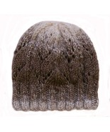 Closet Values Womens One Size Fit Ombre Brown Knit Beanie Hat - $15.99