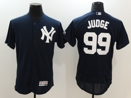 Aaron Judge #99 Navy Blue New York Yankees Majestic Flexbase MLB Jersey - $37.99