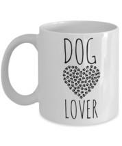 """Dog Mug """"Dog Mugs For Dog Lovers With Heart and Paws"""" This Dog Coffee Mu... - $14.95"""