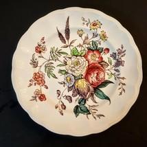 "COPELAND SPODE 8"" Salad PLATE Floral Transferware VTG GAINSBOROUGH GREAT... - $19.75"
