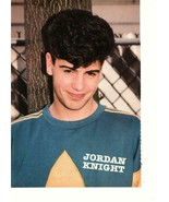 Jordan Knight Fred Savage teen magazine pinup clipping New Kids on the b... - $3.50